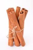 Cinnamon. On white isolated background Stock Photos
