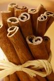 Cinnamone sticks Stock Image