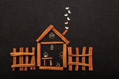 Cinnamons房子 免版税库存图片