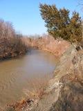 Cinnoberfärgflod Illinois Fotografering för Bildbyråer
