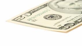 Cinqüênta dólares Bill fotos de stock royalty free