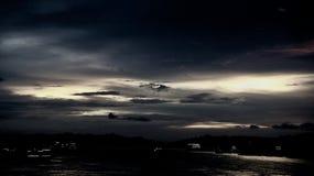 Cinqüênta máscaras do preto A noite escura é certamente uma das vistas as mais bonitas imagem de stock
