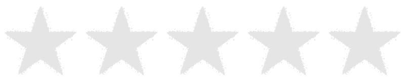 Cinq étoiles votant - blanc - Gray Background - révision, évaluant illustration de vecteur