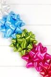 Cinq arcs de cadeau Photo libre de droits