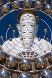 Cinq blanc Bouddha Image libre de droits
