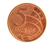 Cinq centavos Photo stock
