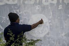 CINQ CENTS INDONÉSIENS JOIGNENT ISIS Photographie stock libre de droits