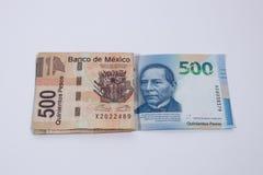 Cinq cents pesos photos libres de droits