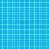 Cinq millimètres de grille blanche sur le bleu, blueprint le modèle sans couture Image libre de droits