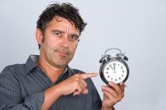 Cinq minutes au minuit Images libres de droits