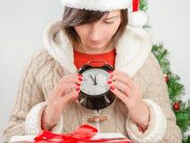 Cinq minutes avant la nouvelle année ! Images stock