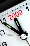 Cinq mn à l'année prochaine Images stock