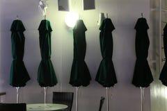 Cinq parapluies Photos stock