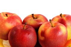 Cinq pommes Photo libre de droits