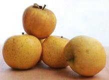 Cinq pommes, Belchard, Photographie stock