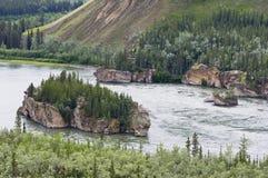Cinq Rapids de doigt Images stock