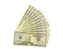 Cinqüênta dólares Imagem de Stock