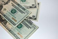 Cinquanta dollari Fotografia Stock