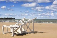 cinquantasettesima spiaggia della via (Chicago) Immagini Stock