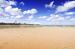 cinquantasettesima spiaggia della via (Chicago) Fotografie Stock