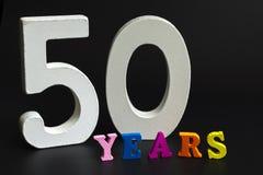 Cinquante ans photographie stock libre de droits