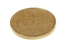 Cinquante euro cents Photo stock