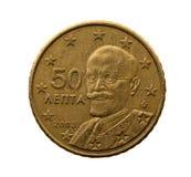 Cinquante euro cents Images libres de droits