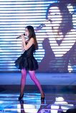 Cinquante-premier concours de Mlle International Jiangxi de chanson-Le populaire Photographie stock