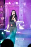 Cinquante-premier concours de Mlle International Jiangxi de chanson-Le populaire Image libre de droits