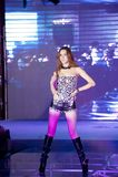 Cinquante-premier concours de Mlle International Jiangxi de danse-Le sauvage Images stock