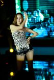 Cinquante-premier concours de Mlle International Jiangxi de danse-Le sauvage Images libres de droits