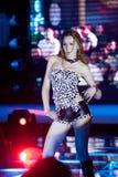Cinquante-premier concours de Mlle International Jiangxi de danse-Le sauvage Photo stock