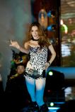 Cinquante-premier concours de Mlle International Jiangxi de danse-Le sauvage Photos stock