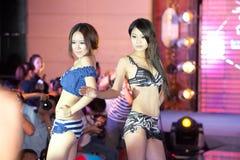Cinquante-premier concours de Mlle International Jiangxi de vêtements de bain-Le Image libre de droits