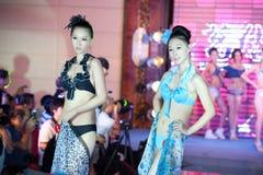 Cinquante-premier concours de Mlle International Jiangxi de vêtements de bain-Le Photo libre de droits