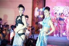 Cinquante-premier concours de Mlle International Jiangxi de vêtements de bain-Le Photos stock