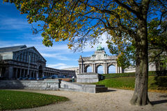 Cinquantenaire park in brussels Royalty Free Stock Image