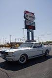 cinquantesimo anniversario Ford Mustang Event a Charlotte Motor Speedway Immagini Stock Libere da Diritti