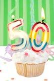 cinquantesimo compleanno Fotografia Stock Libera da Diritti