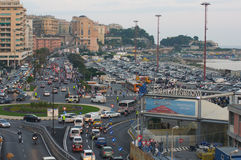 cinquantesimo edizione dell'esposizione delle barche di Genova Immagini Stock Libere da Diritti