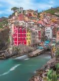 cinque Ιταλία riomaggiore terre στοκ εικόνες