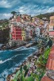 cinque Ιταλία riomaggiore terre στοκ φωτογραφίες με δικαίωμα ελεύθερης χρήσης
