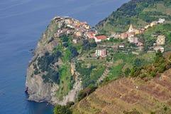 cinque ιταλικό riviera corniglia terre Στοκ εικόνα με δικαίωμα ελεύθερης χρήσης