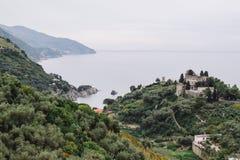 cinque Ιταλία terre Στοκ Εικόνες