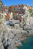 cinque περιοχή manarola της Ιταλίας terre στοκ φωτογραφίες με δικαίωμα ελεύθερης χρήσης