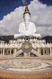 Cinque bianco Buddha Fotografie Stock Libere da Diritti