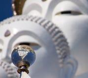 Cinque bianco Buddha Immagini Stock Libere da Diritti