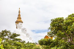 Cinque Buddha Fotografia Stock