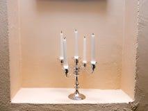 Cinque candele. immagini stock libere da diritti