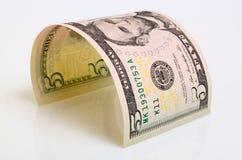 Cinque dollari Fotografie Stock